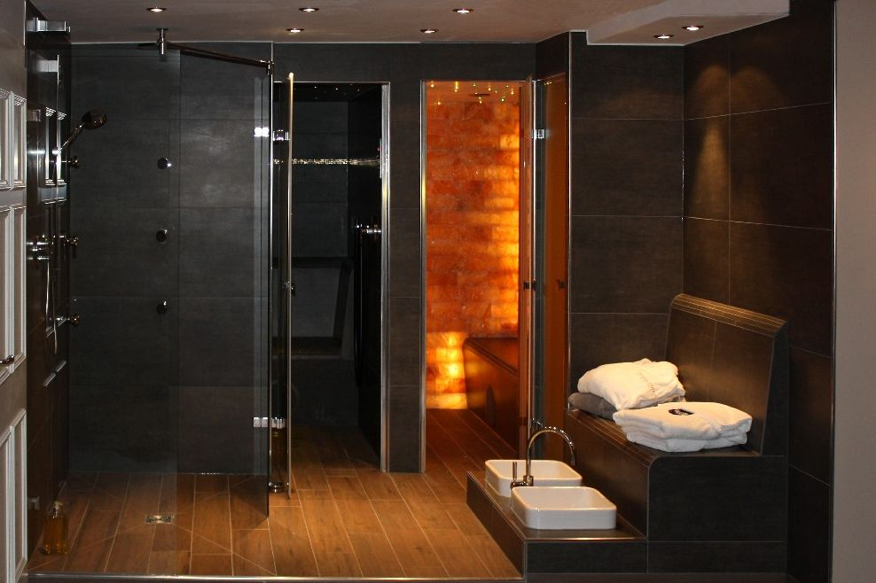 bathroom ideas for attic bathrooms - luxury wet rooms