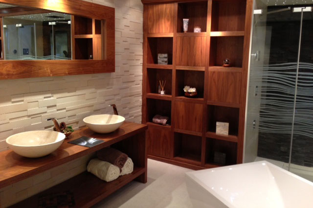 bespoke bathroom storage design