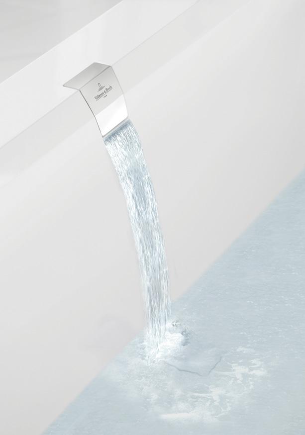 Leading edge luxury bathroom products