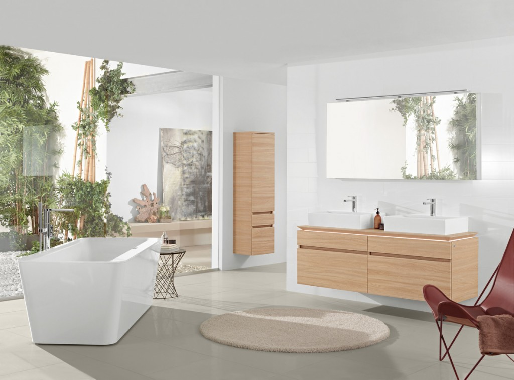 Elegant Modern Bathroom Decor Lays Emphasis On The Shower Room As A Means To Achieve Holistic Wellness More Than Just Performing Daily Rituals Villeroy&amp Boch Has Introduced Two  As Well As Matching Baths, Bathroom Furniture And