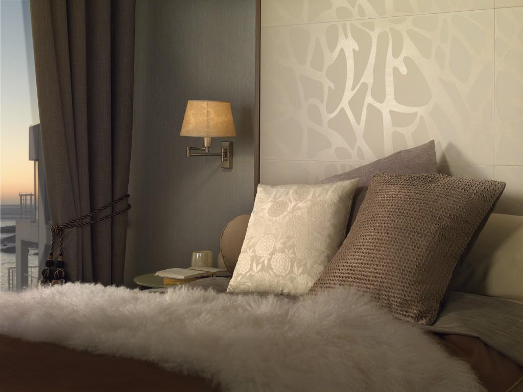 designer bedroom tiling