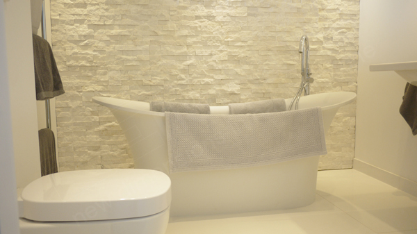 luxury bathroom stone tiles Concept Design