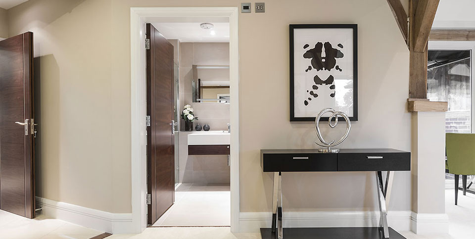 luxury interior design for Buckinghamshire developers