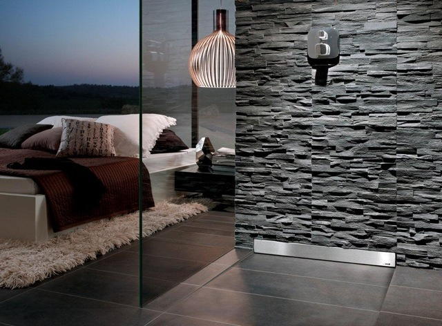 Luxury wet rooms concept design for Carrelage douche italienne