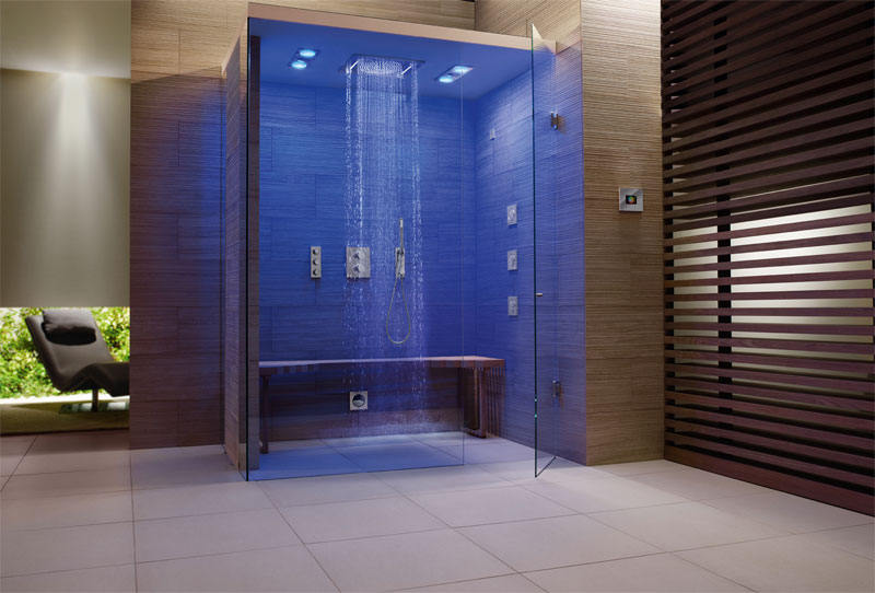 Luxury Wet Rooms on master bathroom shower design ideas