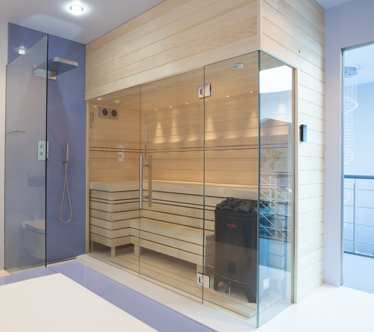 Steam & Sauna Designs