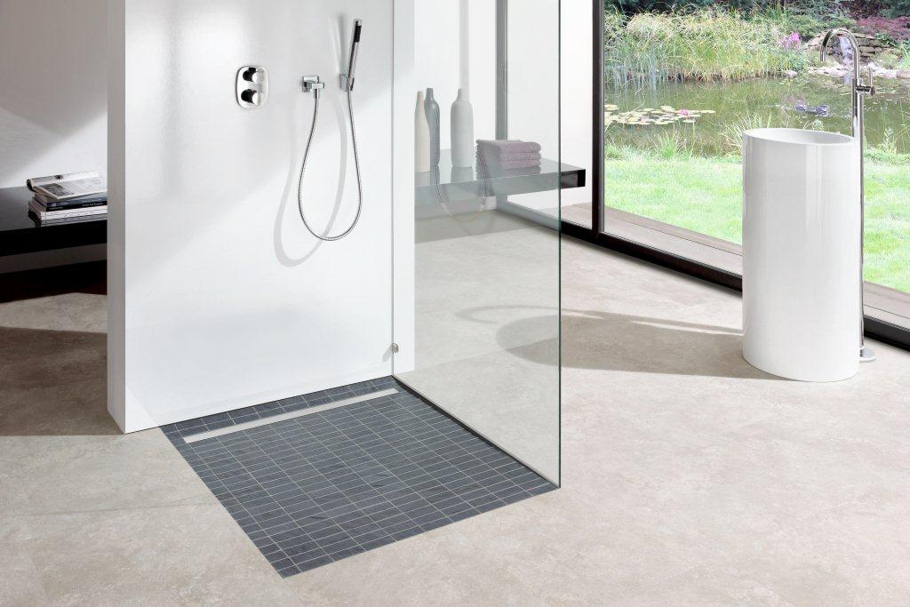 Luxury walk in showers and wet rooms in ascot concept design for Wet room shower tray for vinyl