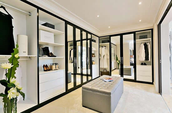 Dressing Room Wardrobes Concept Design
