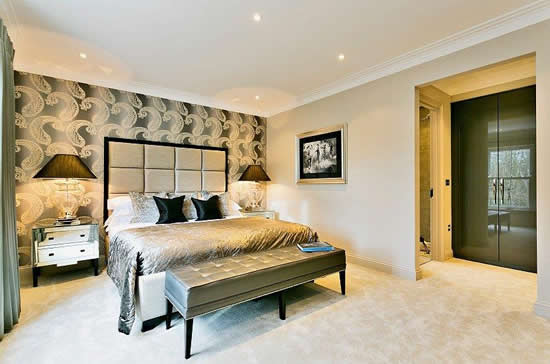 Wardrobes concept design Master bedroom ensuite and dressing room