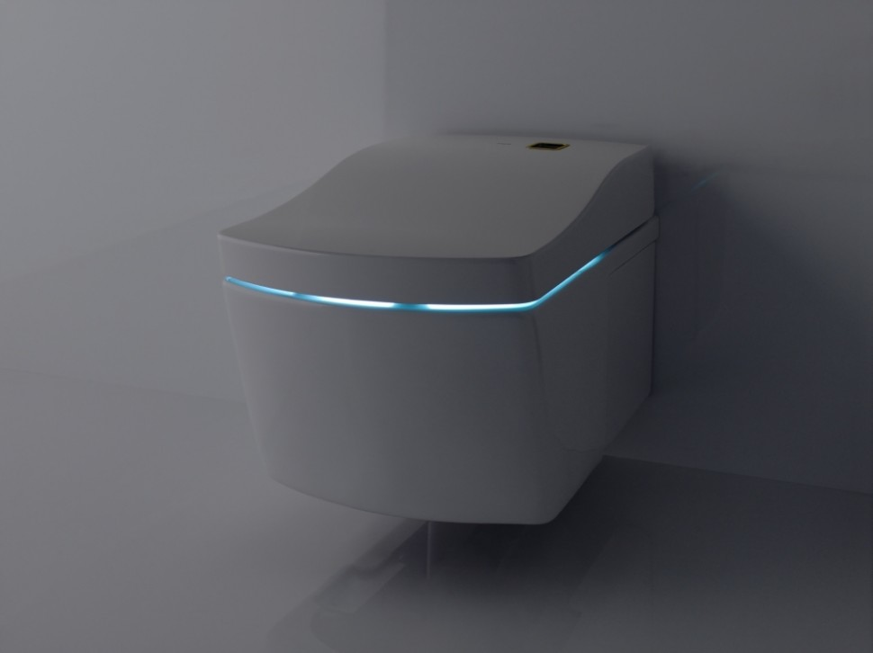 TOTO WC with light inside