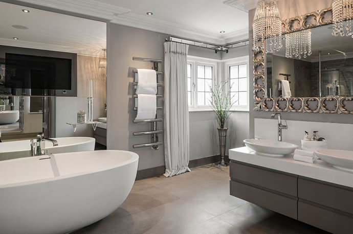 Adorable 40 luxury bathrooms for sale decorating for Luxury bathroom designs