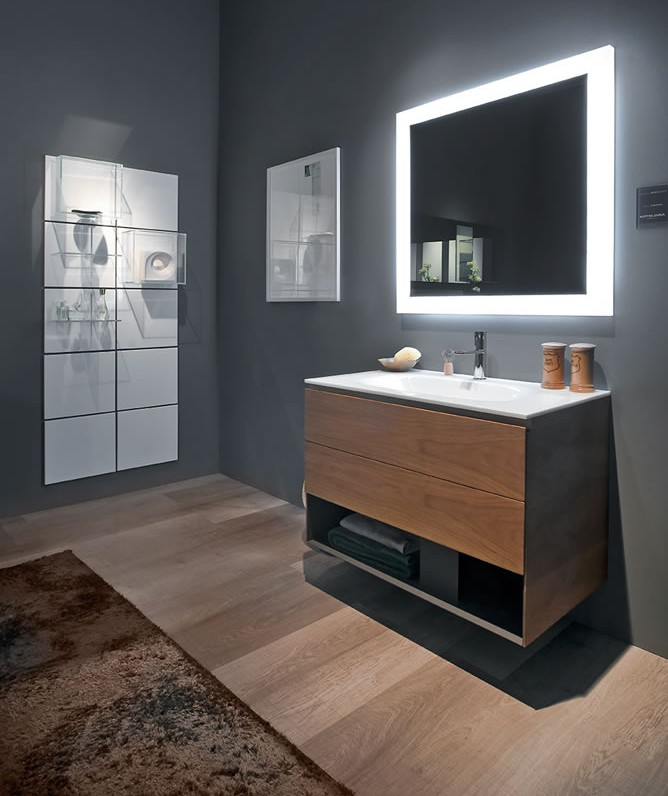 Artlinea Glass Finish Vanity Units And Illuminated Mirrors