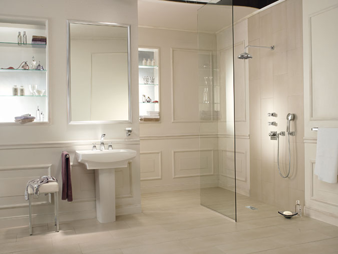 Classical Bathroom with Cry