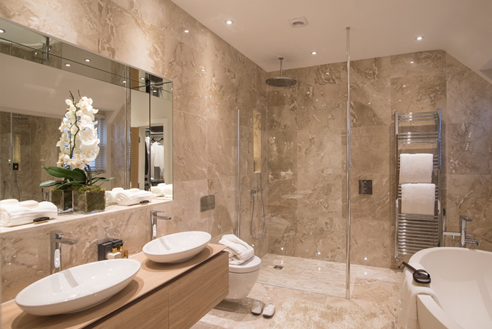 Luxury Bathroom Design Service Concept