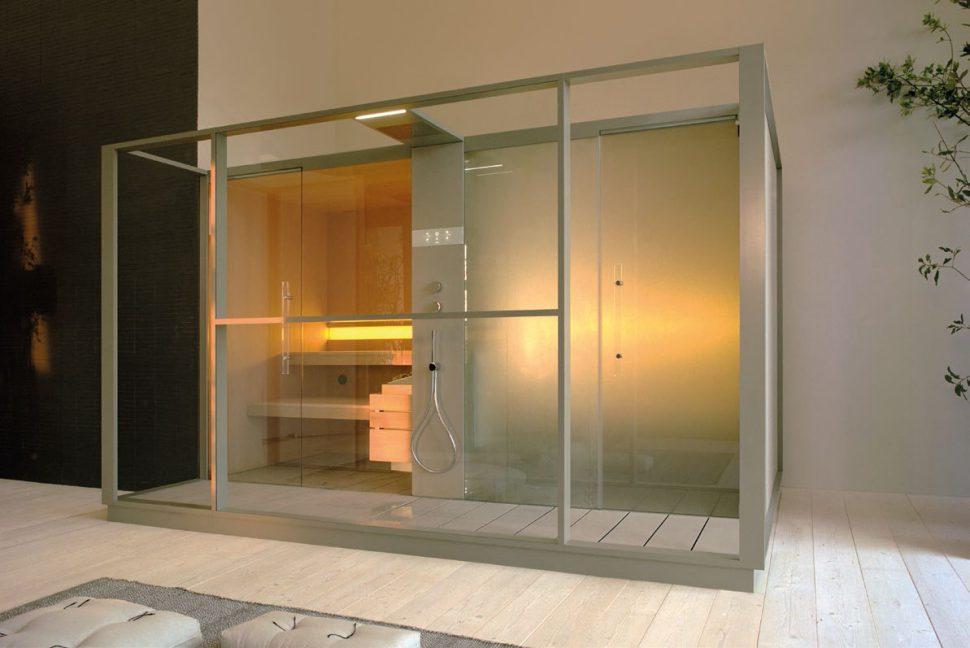 Sauna and shower enclosure