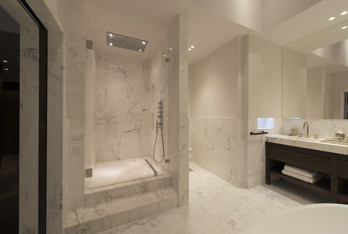 Lapicida for the finest luxury in natural stone bathroom tiles