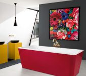 Colourful Boutique Hotel Bathrooms