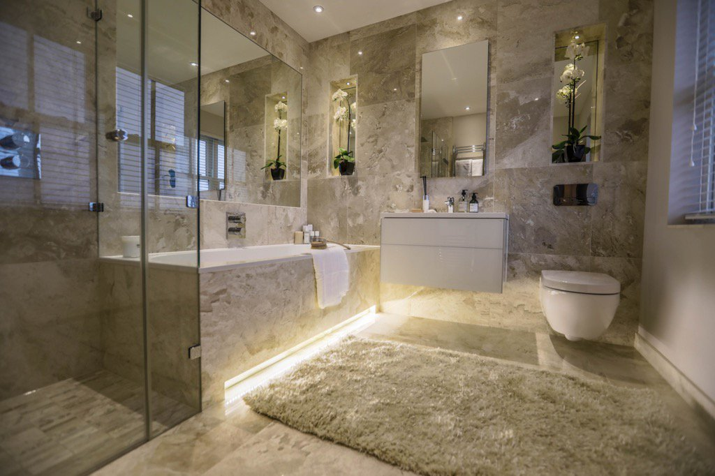 Luxury Bathroom Concept Design
