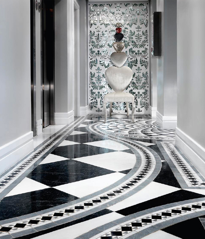 Feature Entrance Hall Marble