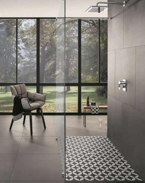 not only are these patterns striking but they come with the added benefit of being easy to clean and have an anti slip class of a pn12 making them safe - Bathroom Designs Villeroy And Boch