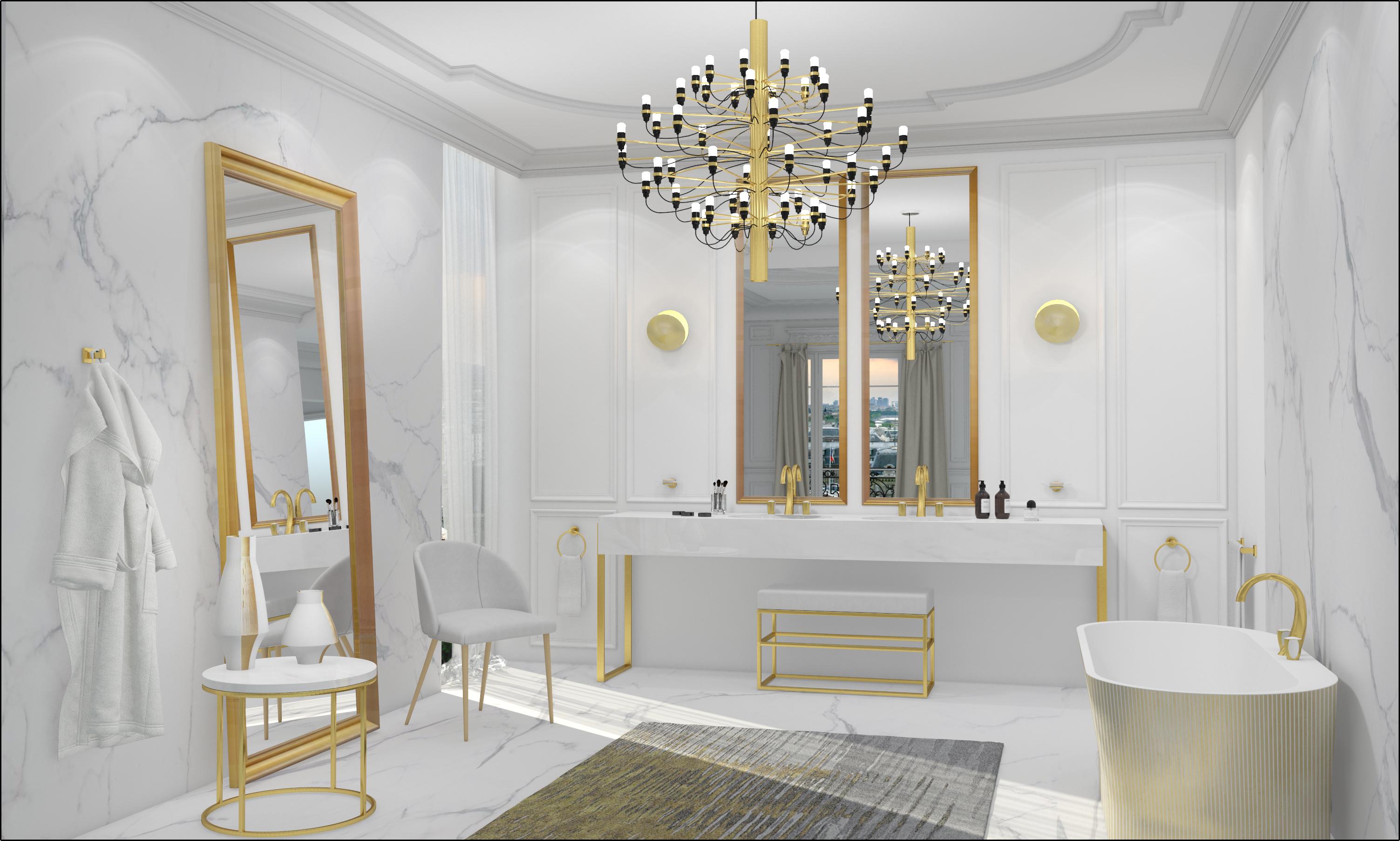 Ascot bathroom design | Concept Design