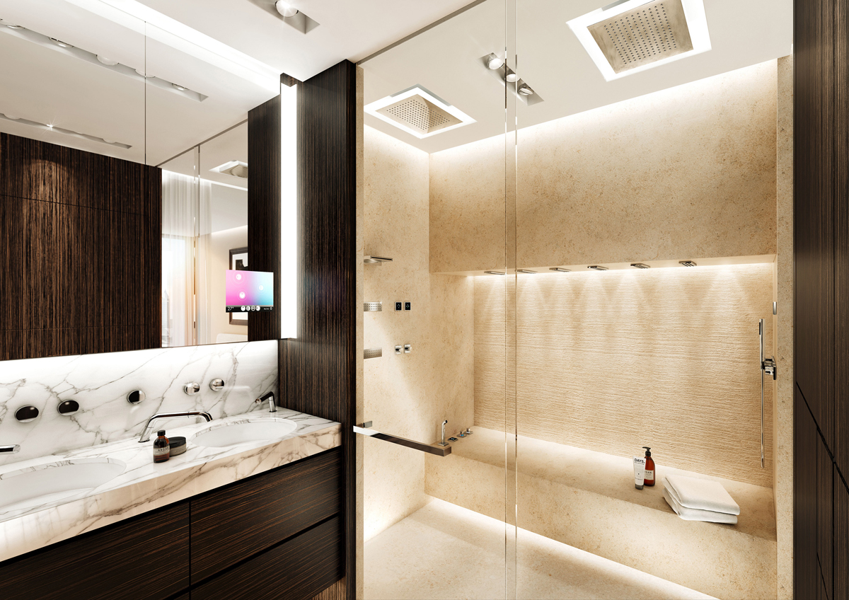 Luxury Bathroom Spa Showers | Concept Design