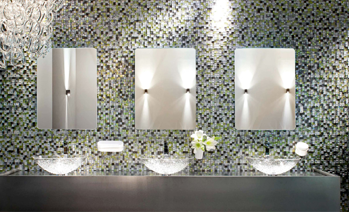 Creating stunning visual mosaic displays in Décor Spa, Bathrooms and Cloakrooms