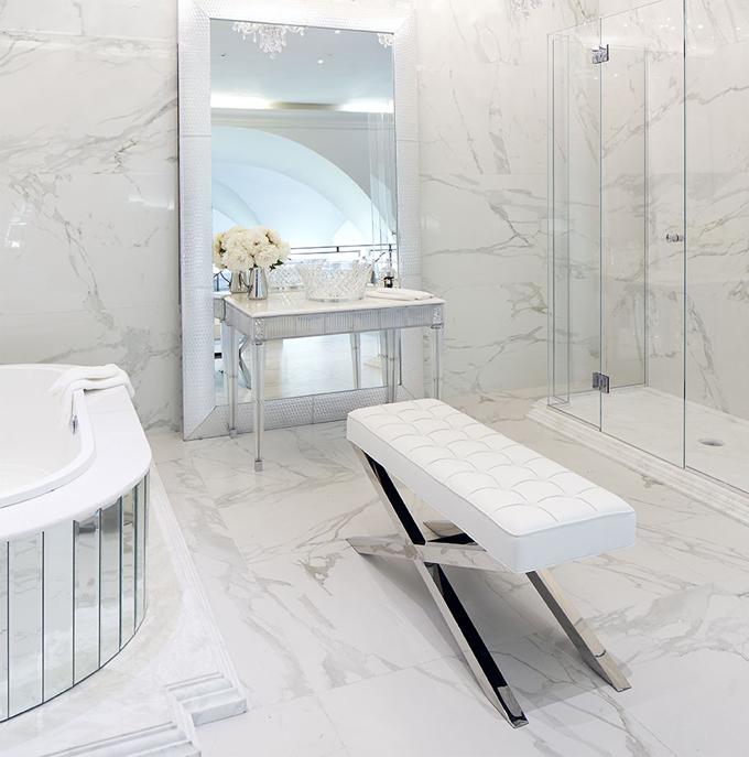 White & Grey Bathrooms