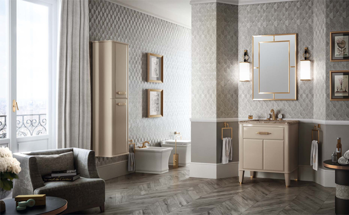 Art Deco Luxury Vanity Units