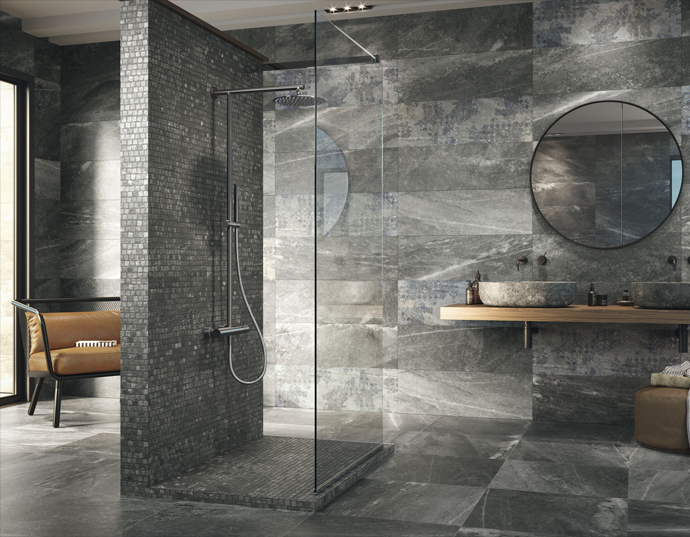 Bathroom Tiles Design >> High End Bathroom Tiles Concept Design