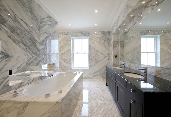 Marble Bathroom Design in Sunningdale