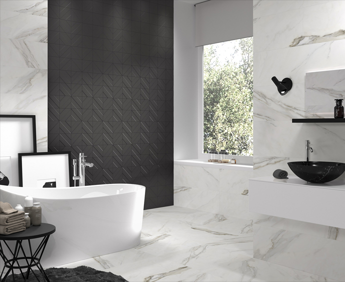 Luxury Bathroom Tile Finishes