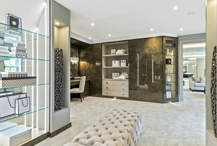 Statement Bathrooms & Luxury Dressing Room Wardrobes