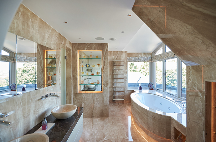 High End Bathroom Project In Surrey