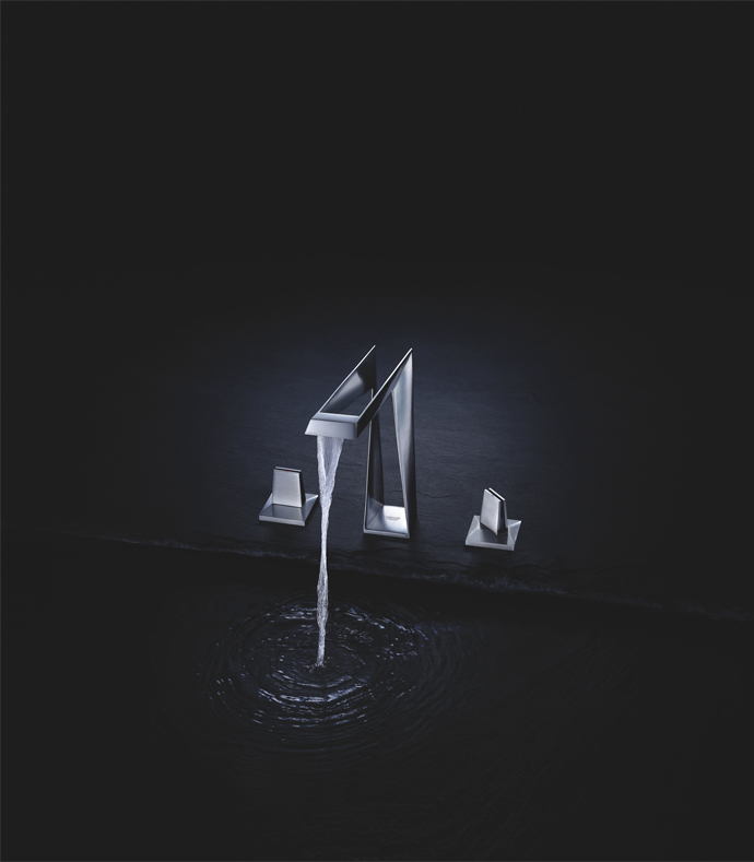 Grohe's latest cutting edge tap design