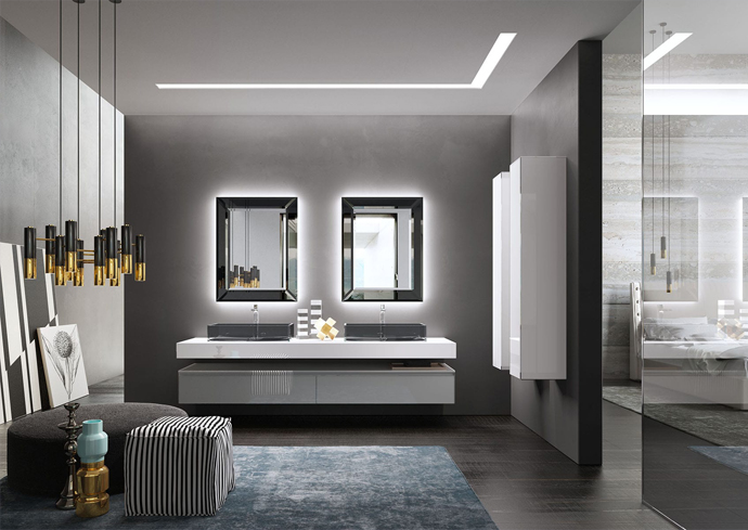 Contemporary Bathroom Look